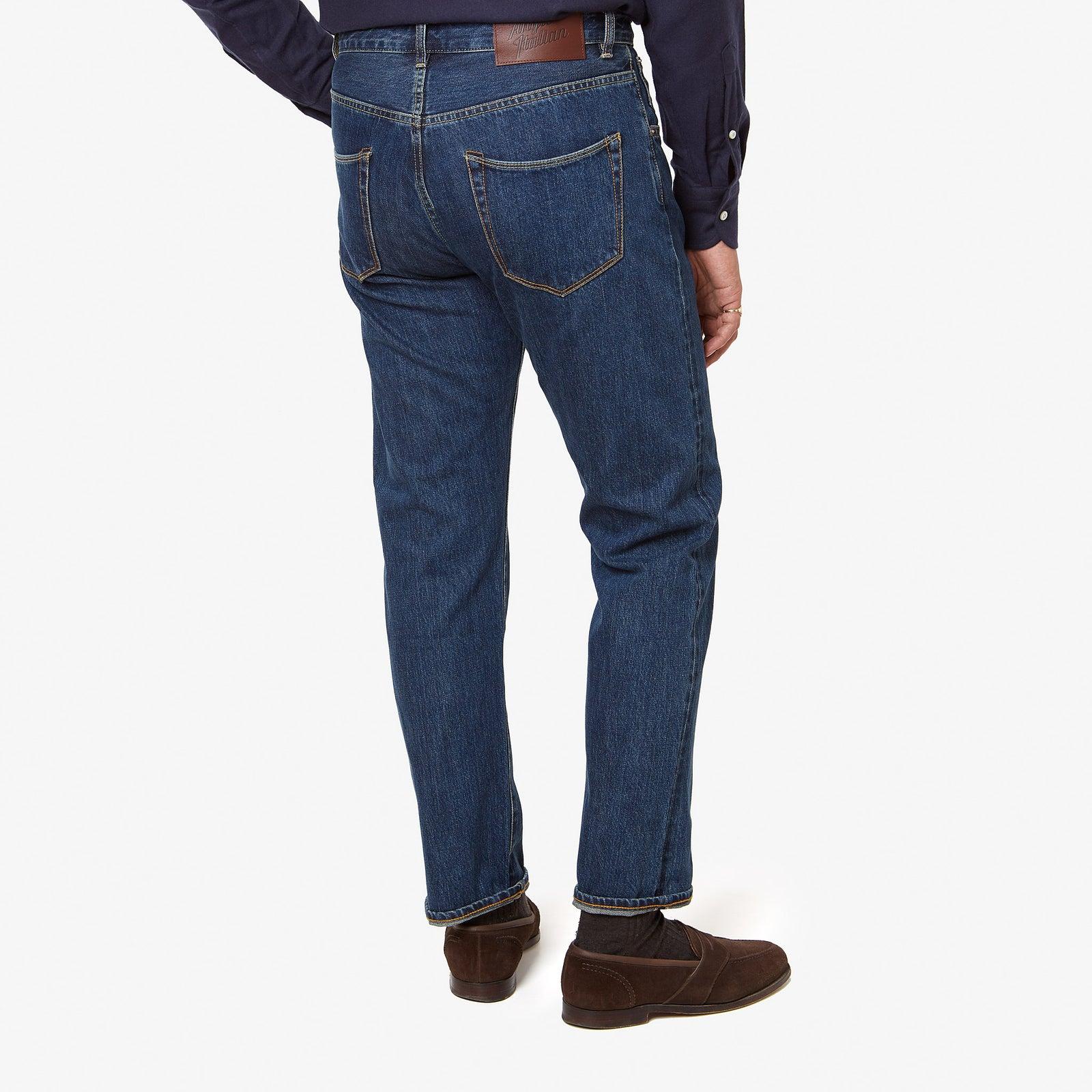 "AIC Denim Dark Wash 32"" Inseam"