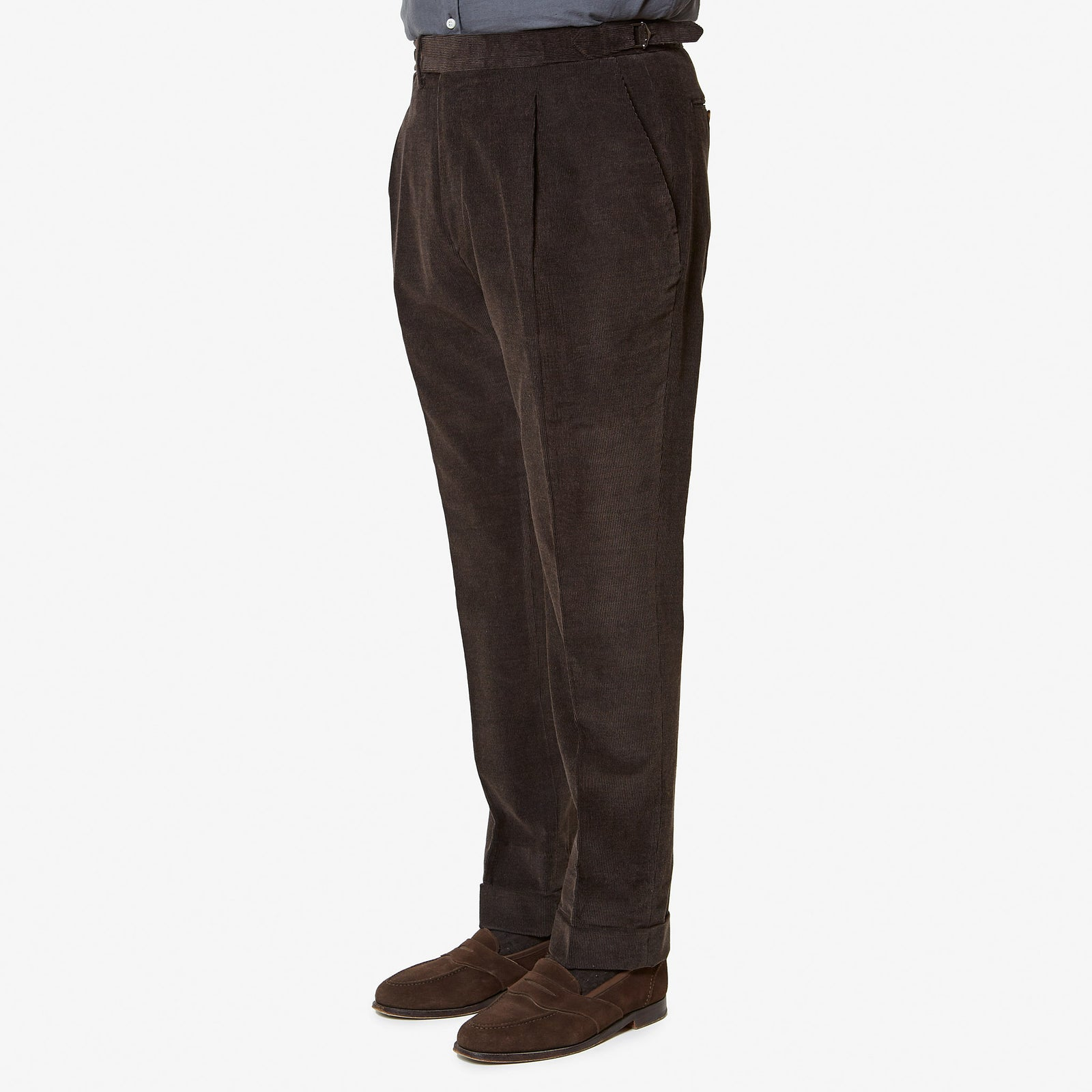 Tailored Trouser Brown Corduroy