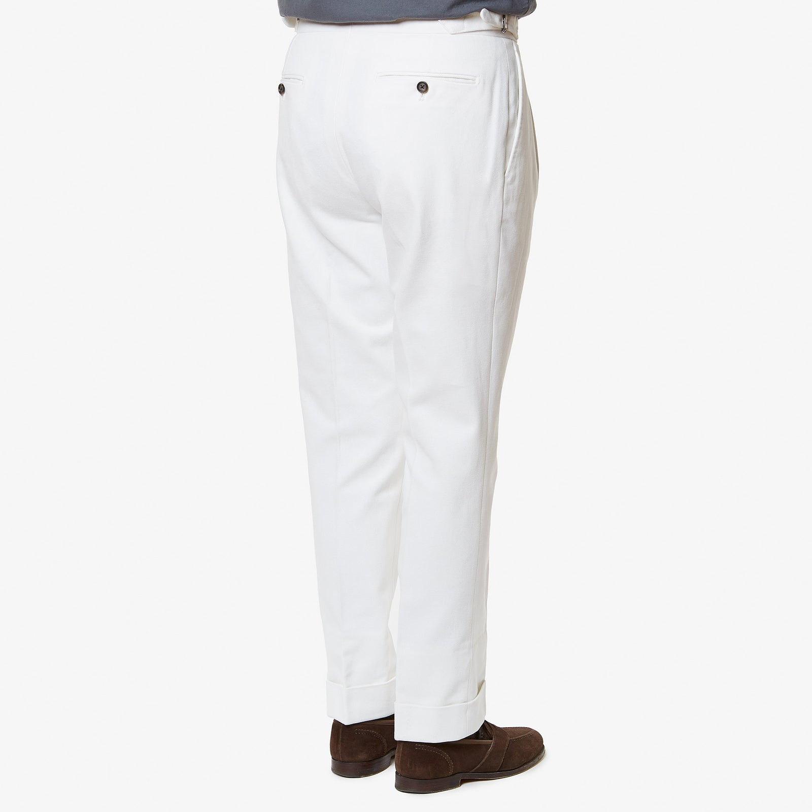 Trouser Cotton Drill White