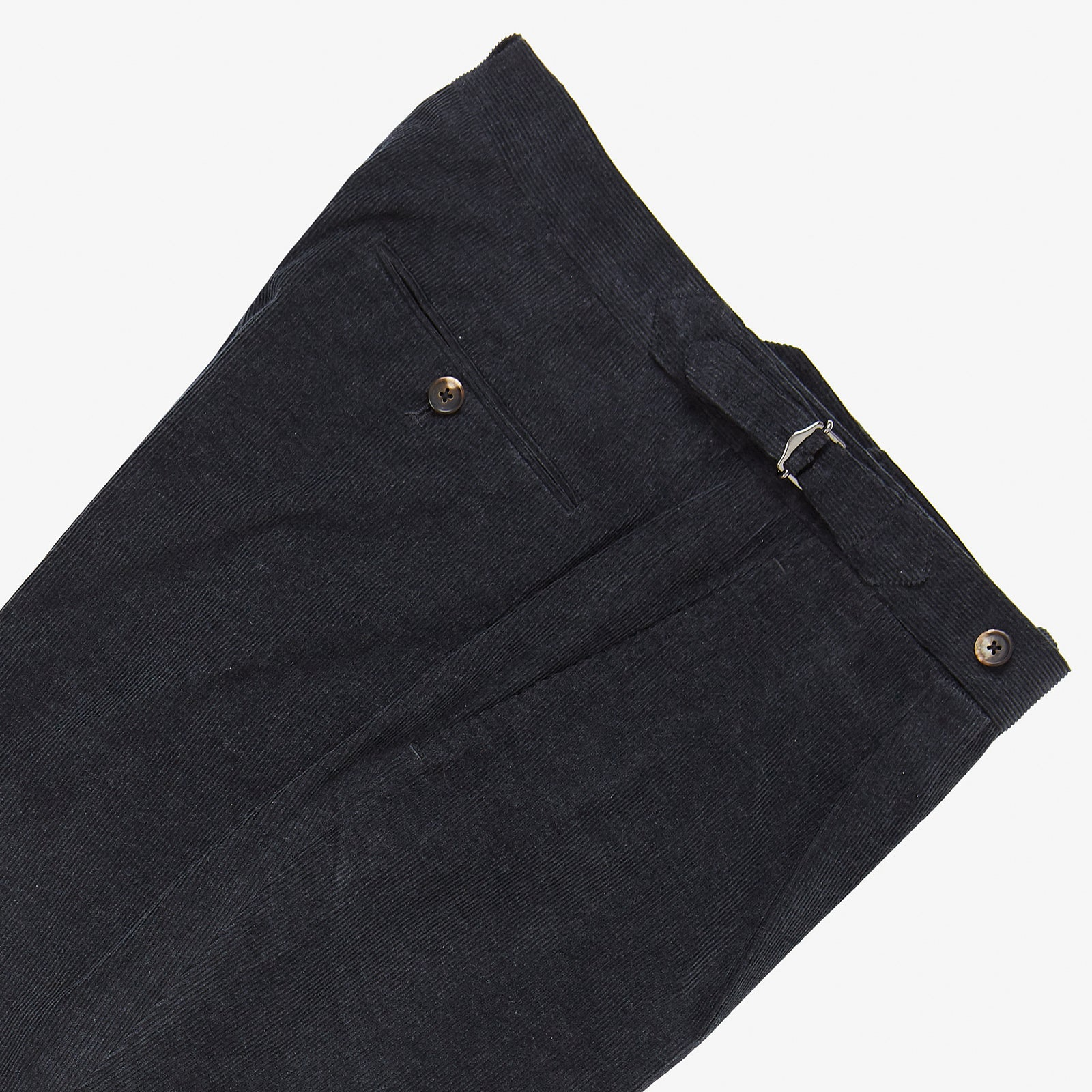 Tailored Trouser Charcoal Corduroy
