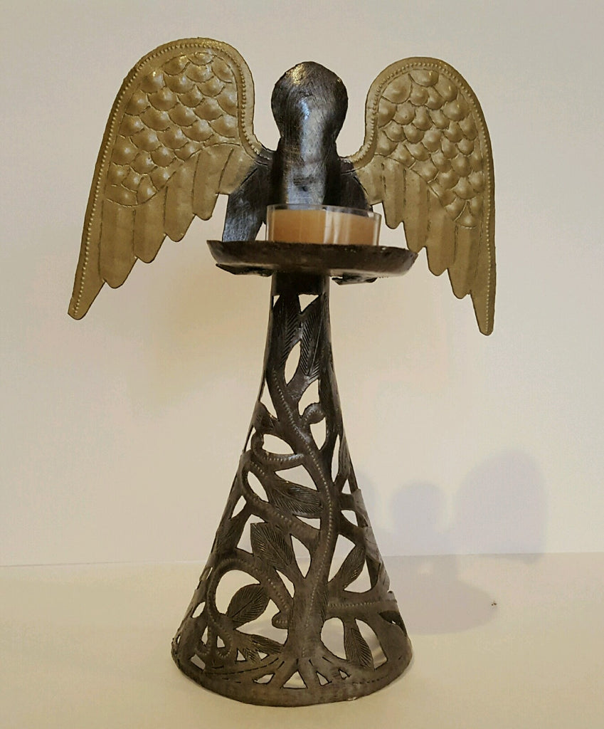 Set of Angel Tealight Stands
