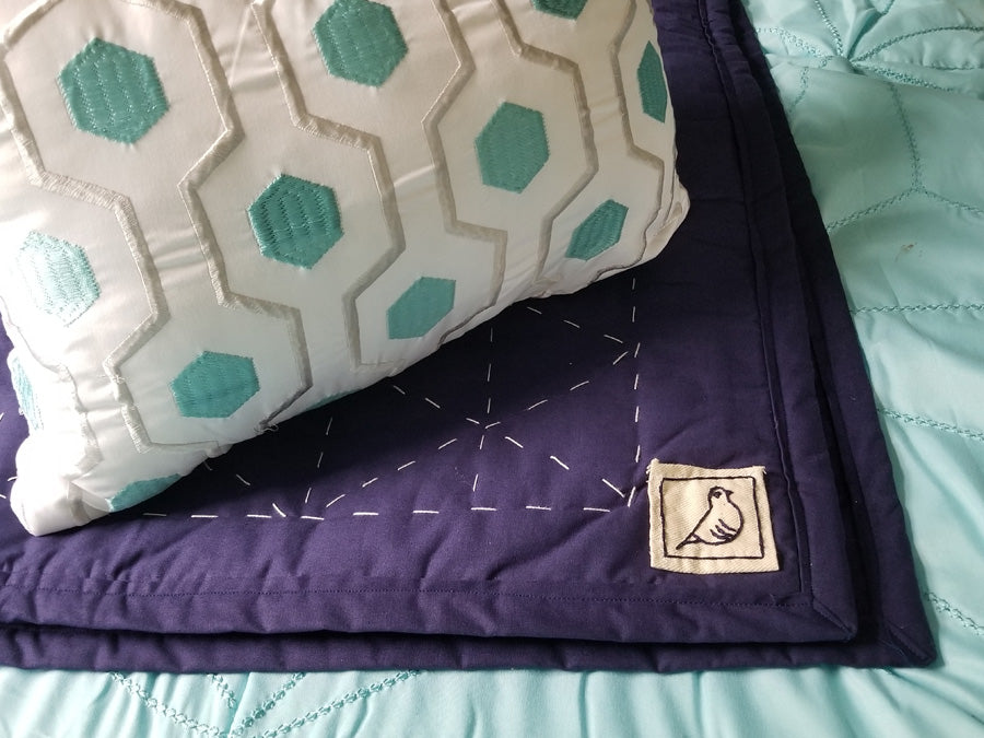 Triangle Stitch Quilt