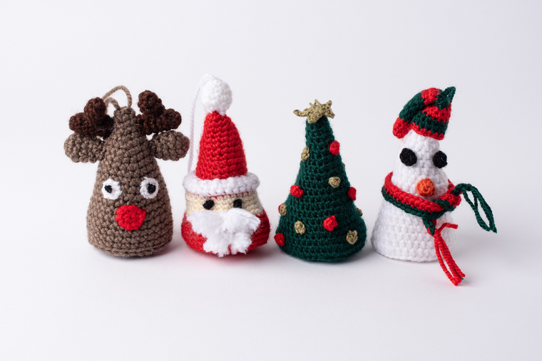 Christmas Cheer Ornaments