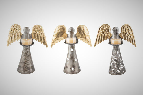 Angel Tealight Stands
