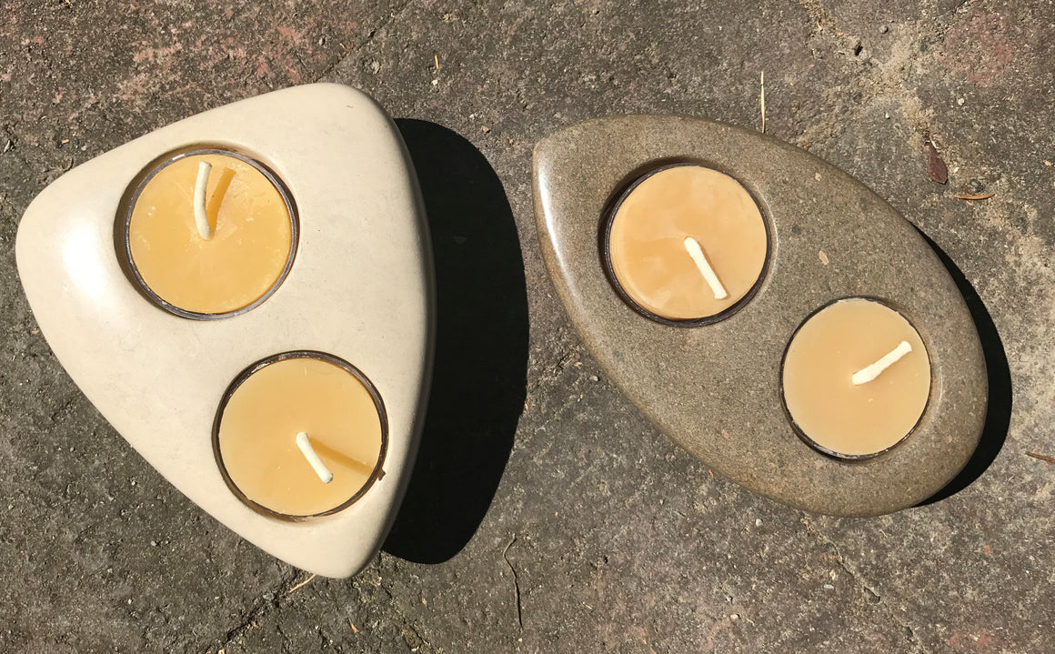 Riverstone Tealight Holders