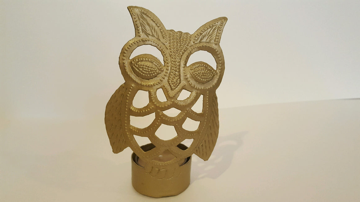 Owl Tealight Holders