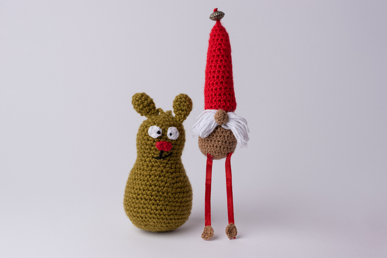 Silly Crochet Ornaments