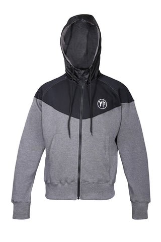 Grey and Black Y1 Hoodie