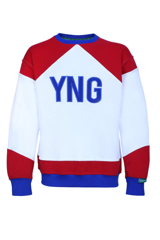 LTD Red/White/Blue Retro Sweater