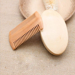 High Quality Soft Boar Bristle Wood Beard Brush & Mustache