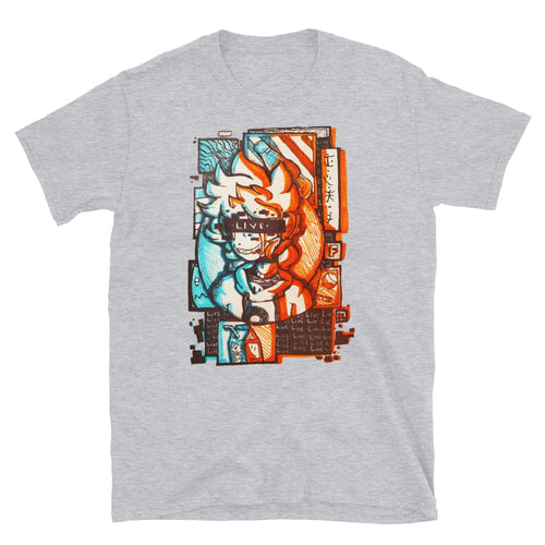 LIVE Art by AJ - Short-Sleeve Unisex T-Shirt - Sport Grey /