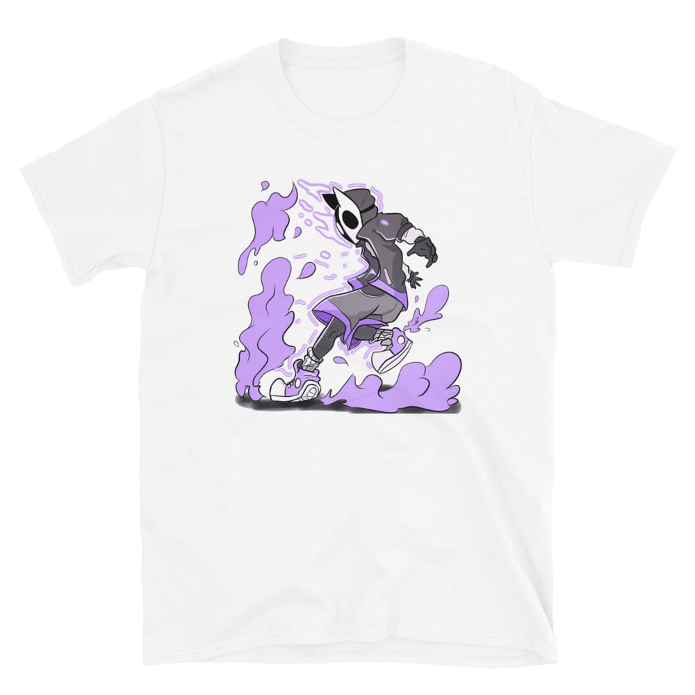 Purple Anime Art | short-sleeve | unisex t-shirt | 100%