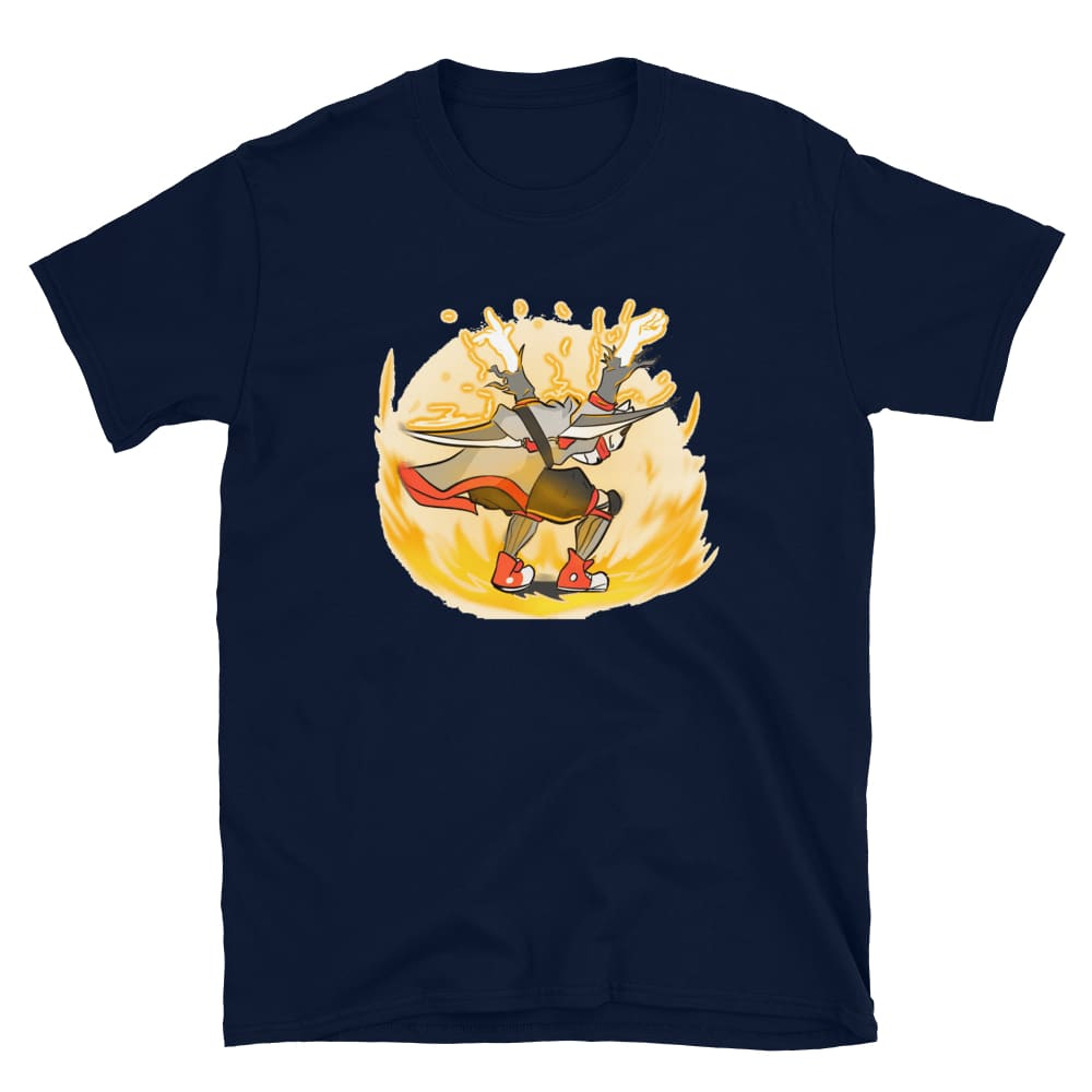 YELLOW Custom Art by RedSlimevevo - Short-Sleeve Unisex