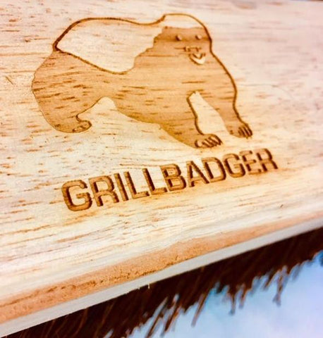 grillbadger wooden brush
