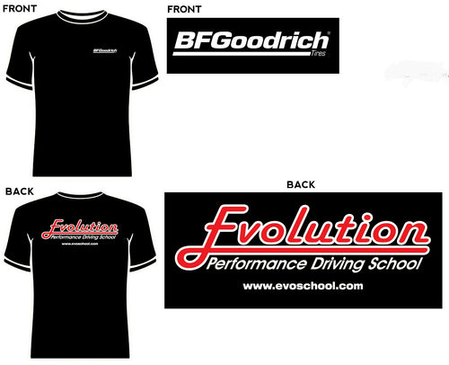 Evolution Performance Driving School Short Sleeve T-Shirt