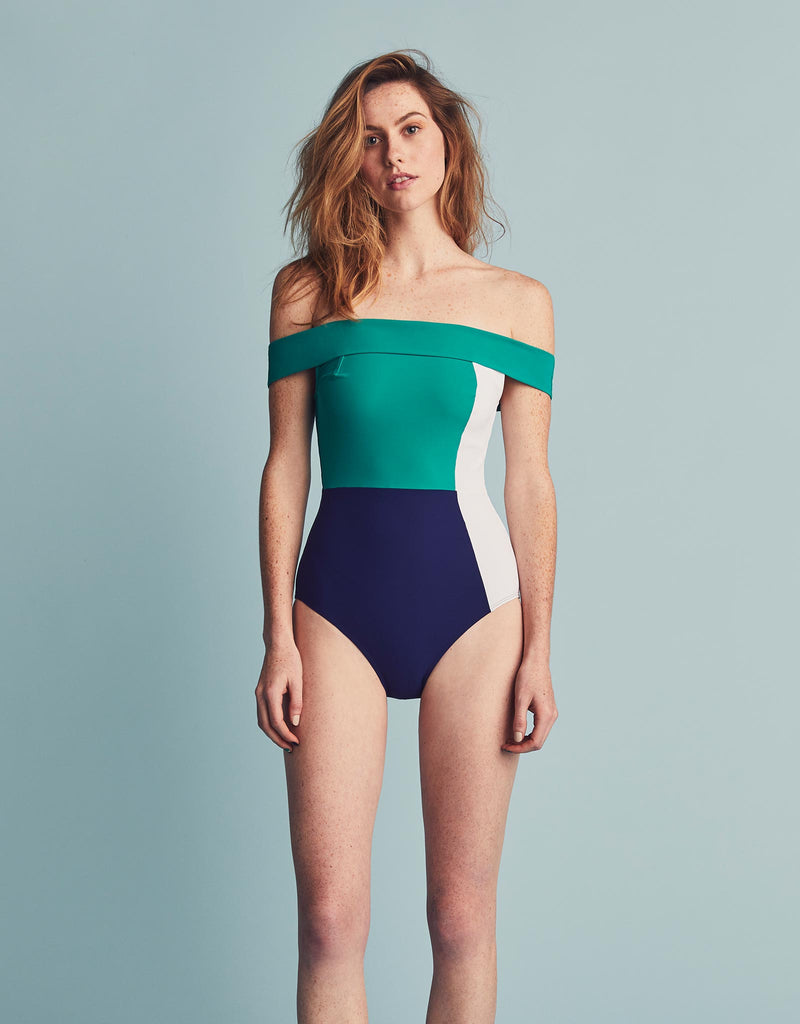 Plunge Navy/White/Sea Green