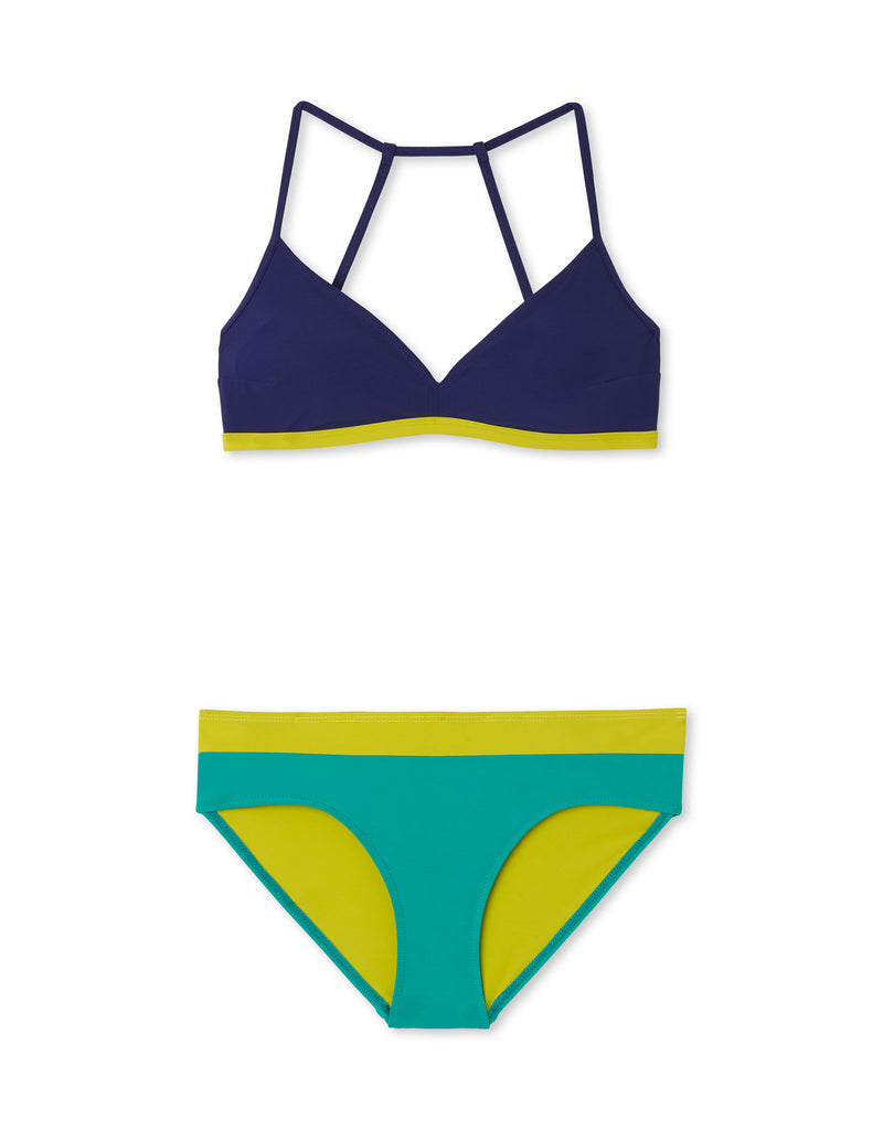 Plunge Navy/Key Lime/Sea Green