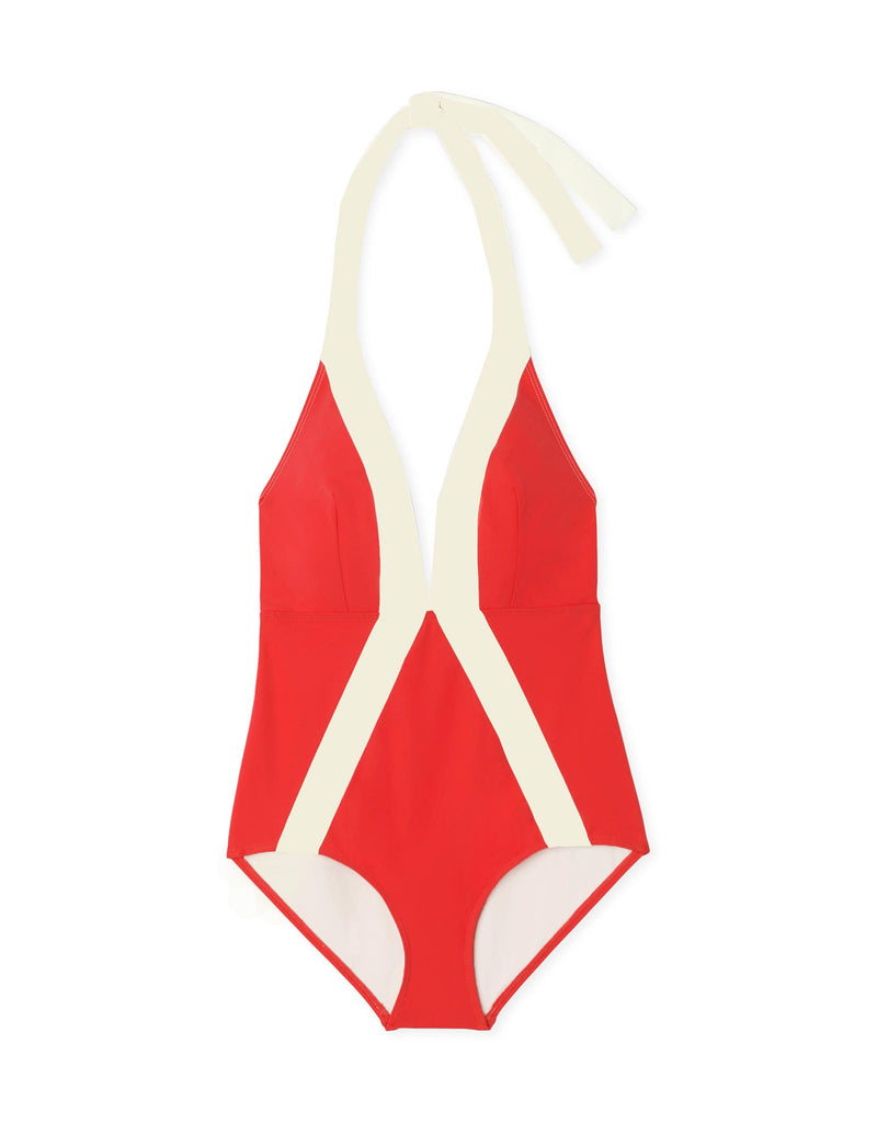 Lifeguard Red/Sand Dollar
