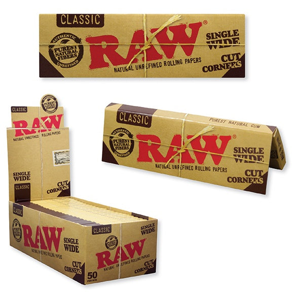 RAW Classic Single Wide (Cut Corners)
