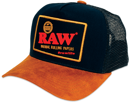 RAWlife Brazil Blue Trucker Hat