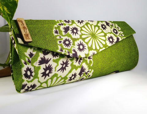 Green Clutch (Kwacha Collection)