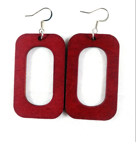 Custom Square Wala Earrings