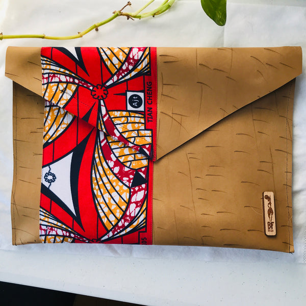 Tan Leather Envelope Pouch (Limited Edition)