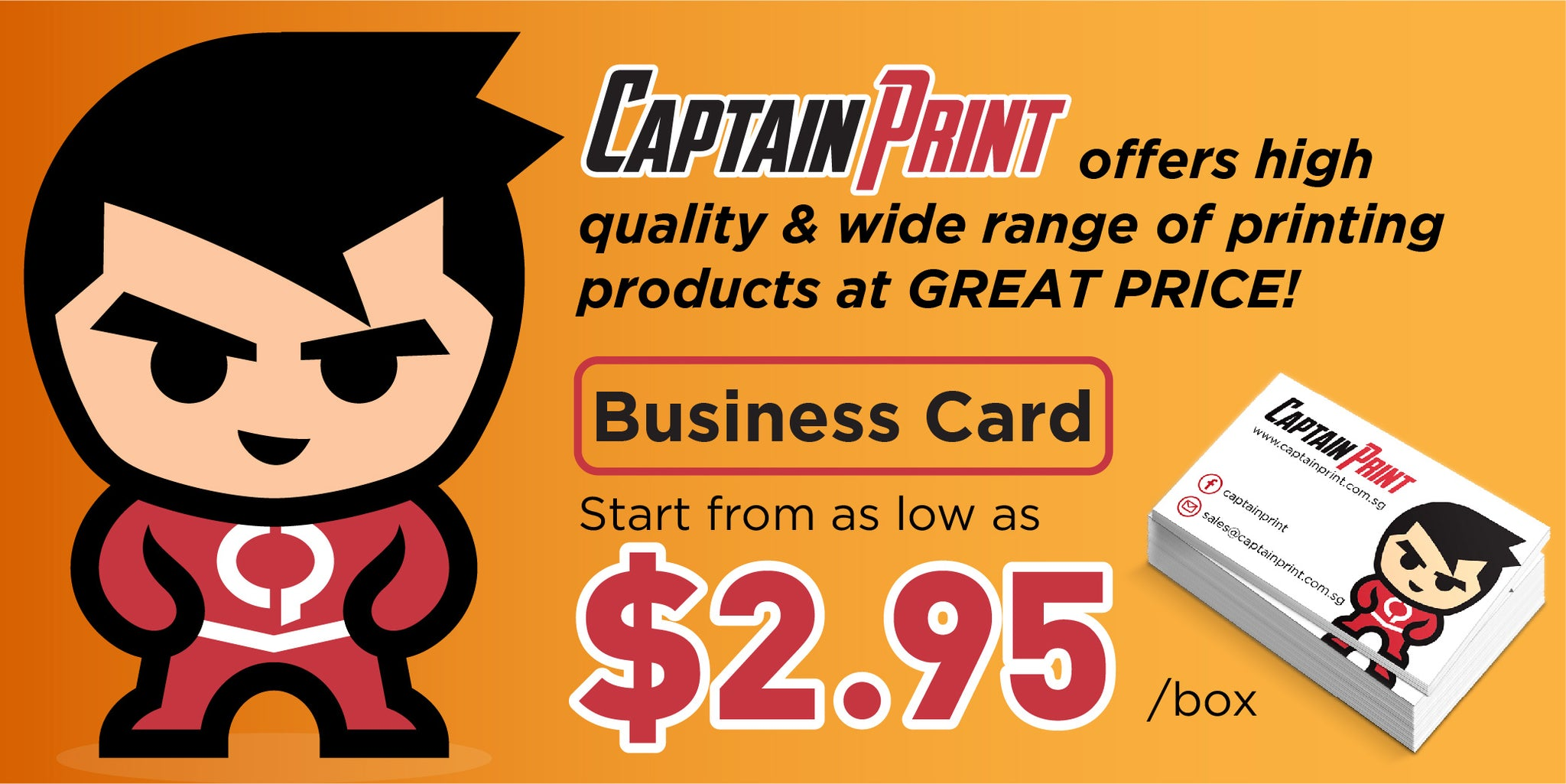 Captain print online printing shop in singapore reheart Gallery