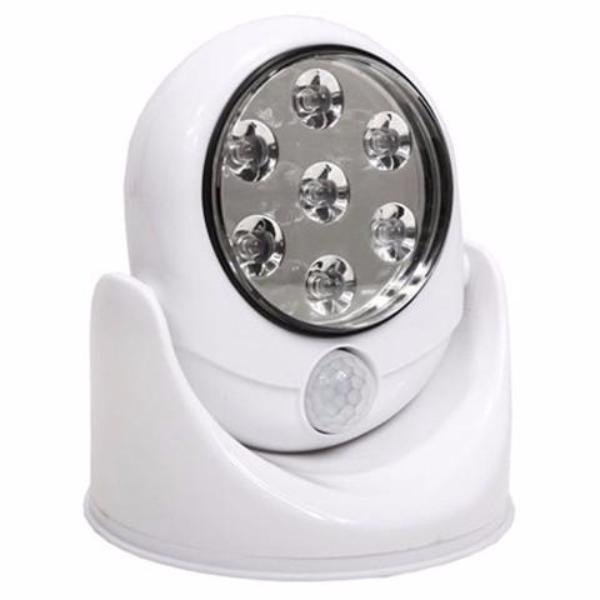 7 LED Wireless Motion Sensor Activated Bright White Light - Rama Deals - 1