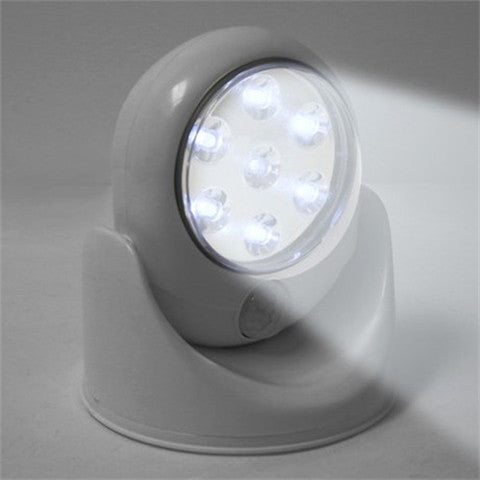 7 LED Wireless Motion Sensor Activated Bright White Light - Rama Deals - 2
