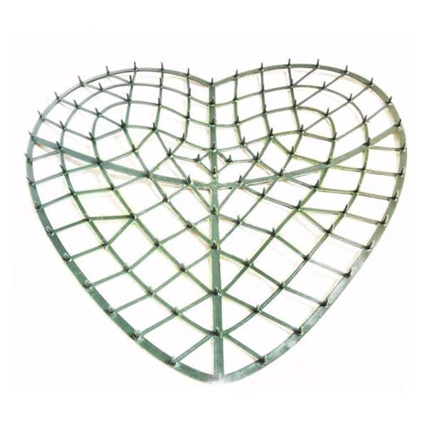 Heart Shape Artificial Plastic Frame