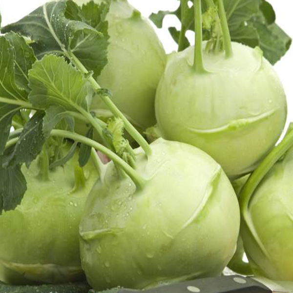 Green Kohlrabi Brassica Vegetable Seeds