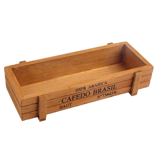 Retro Wooden Multifunctional Storage Box For Flowers