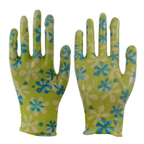 Gardening PU Flowers Glove - Rama Deals