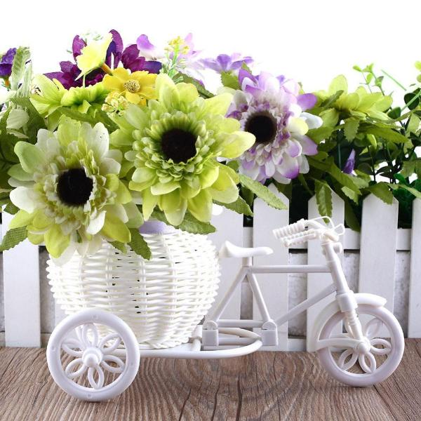 Tricycle Bike Design Flower Basket