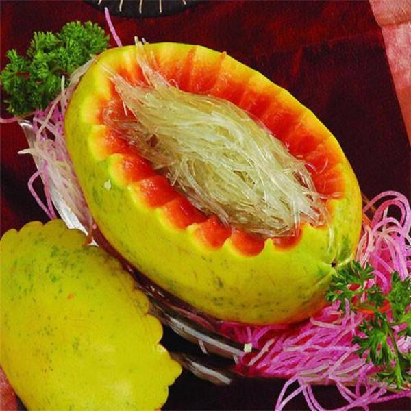 Red Papaya Yellow Cover Seeds