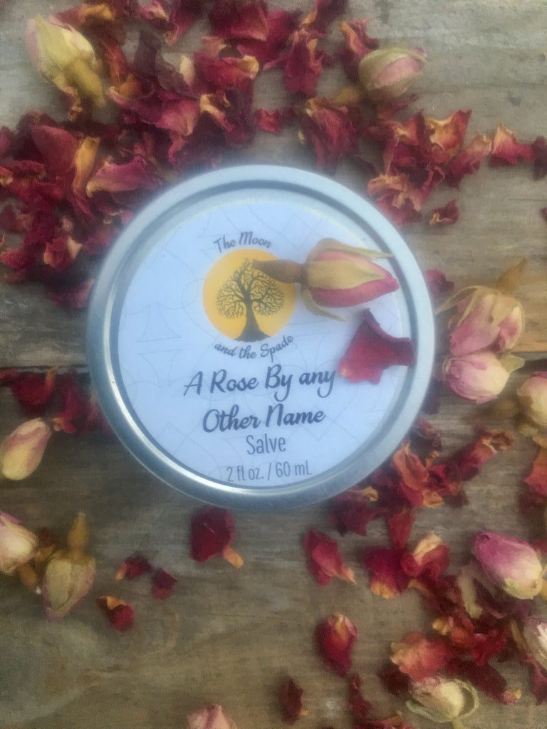 Healing Rose Balm, Rose Salve, Rose Cream to Rescue Dry Skin