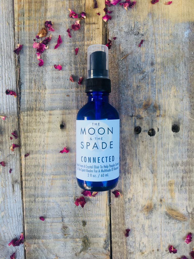 Connected Uplifting Aromatherapy Spray, Crystal Gem Elixirs