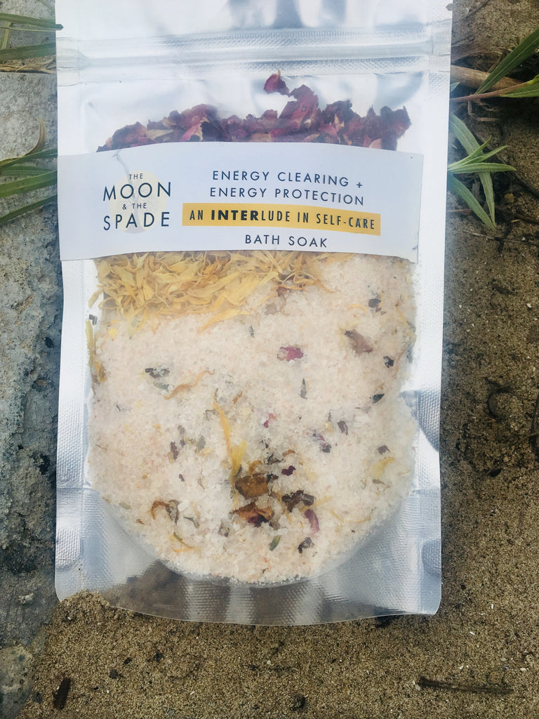 Detox Bath Soak and Bath Tea to Raise Your Vibration Clear Your Energy
