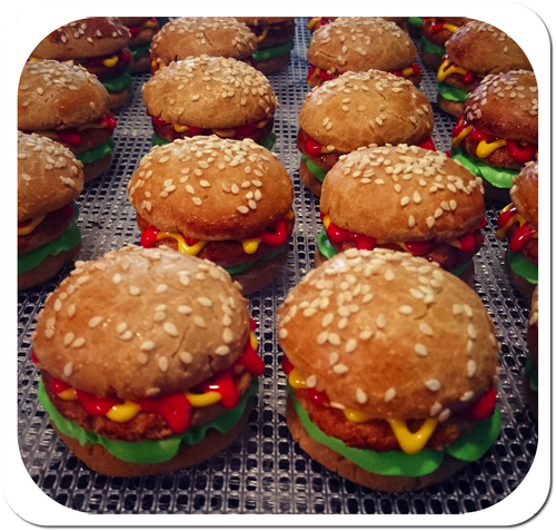 Hamburgers- 4 Pack