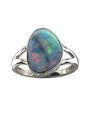 Doublet Opal Inlay Ring