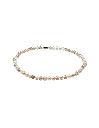 Exotic of Hyriopsis Pastel Freshwater Pearl Necklace