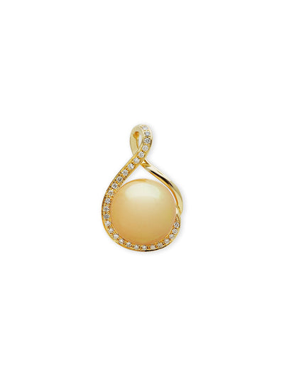 Ocean Breeze Gold South Sea Pearl Pendant