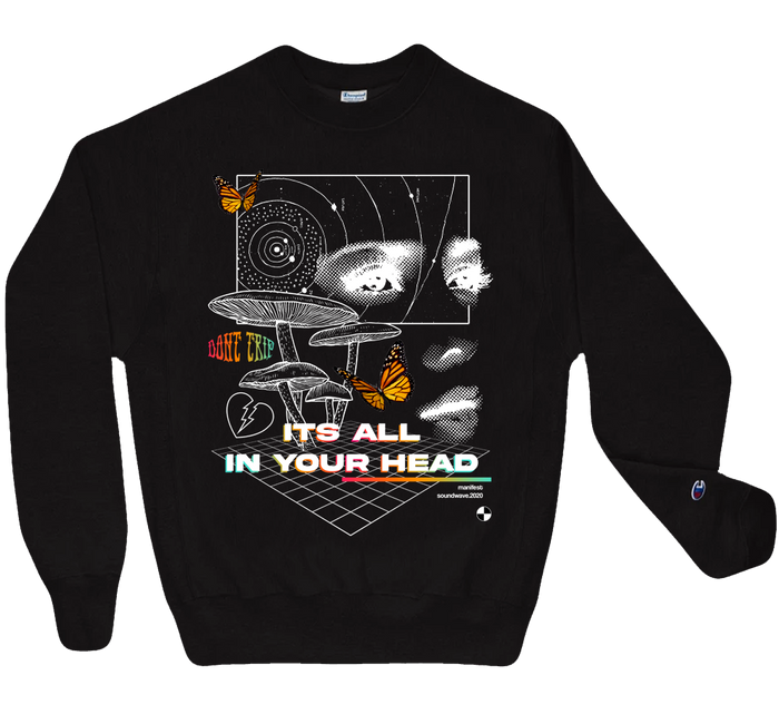 its all in your head champion sweatshirt