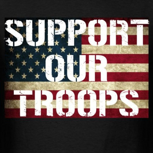 Support Our Troops Charity Tee