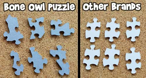 Random vs Grid Style Puzzle Pieces