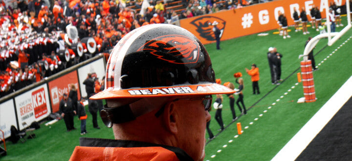 Photo of Oregon State Beavers Watches Sports Game