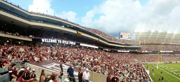 Photo of Texas A&M Aggies Watches Sports Game