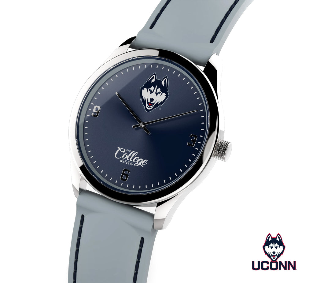 UConn Huskies Watch - 41mm - Slim Edition