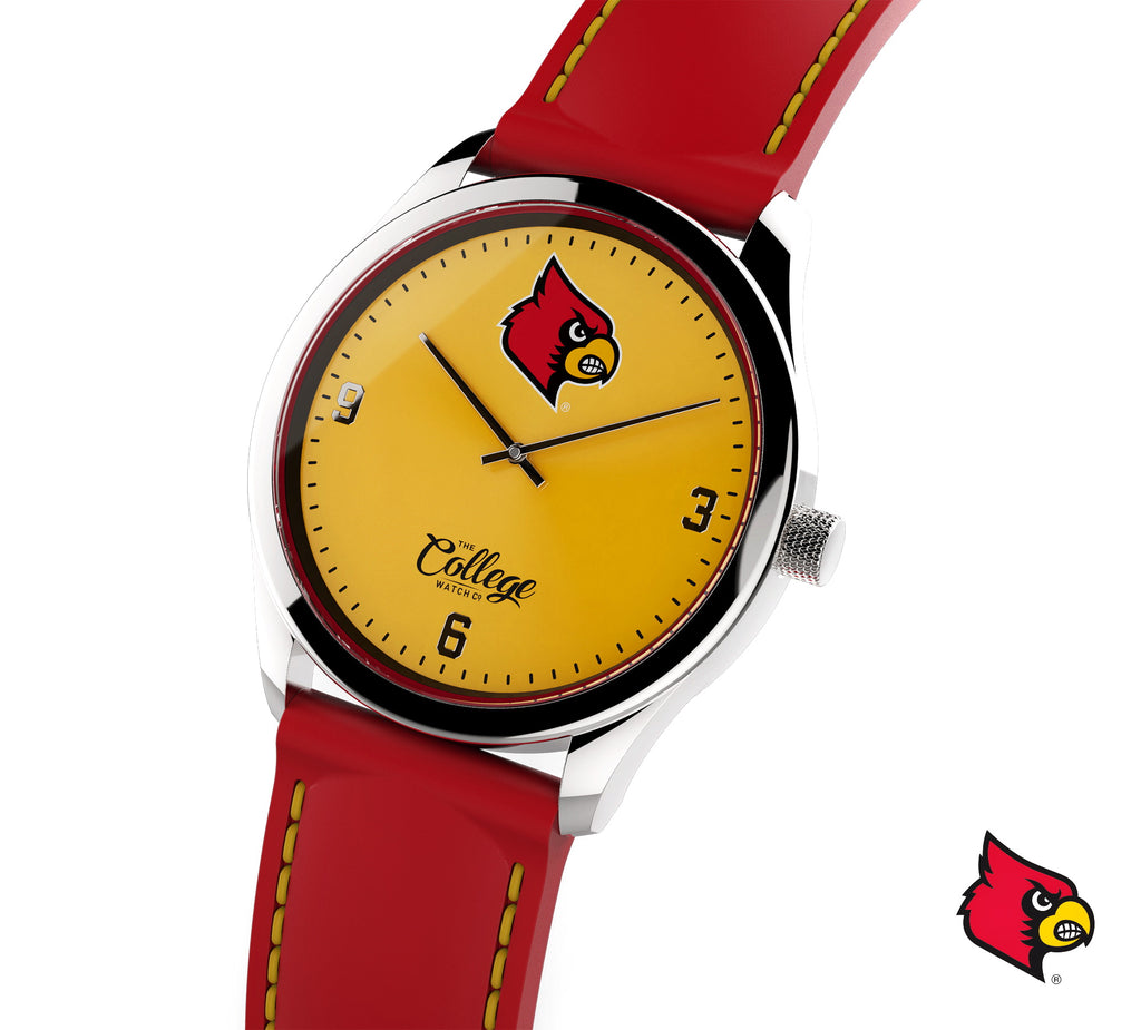 Louisville Cardinals Watch - 41mm - Slim Edition